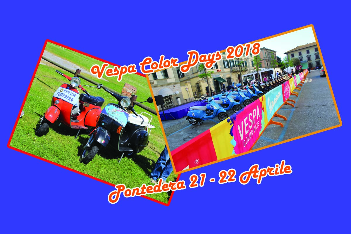 Vespa Color Days 2018