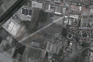 Aeroporto Pontedera sovrapposizione