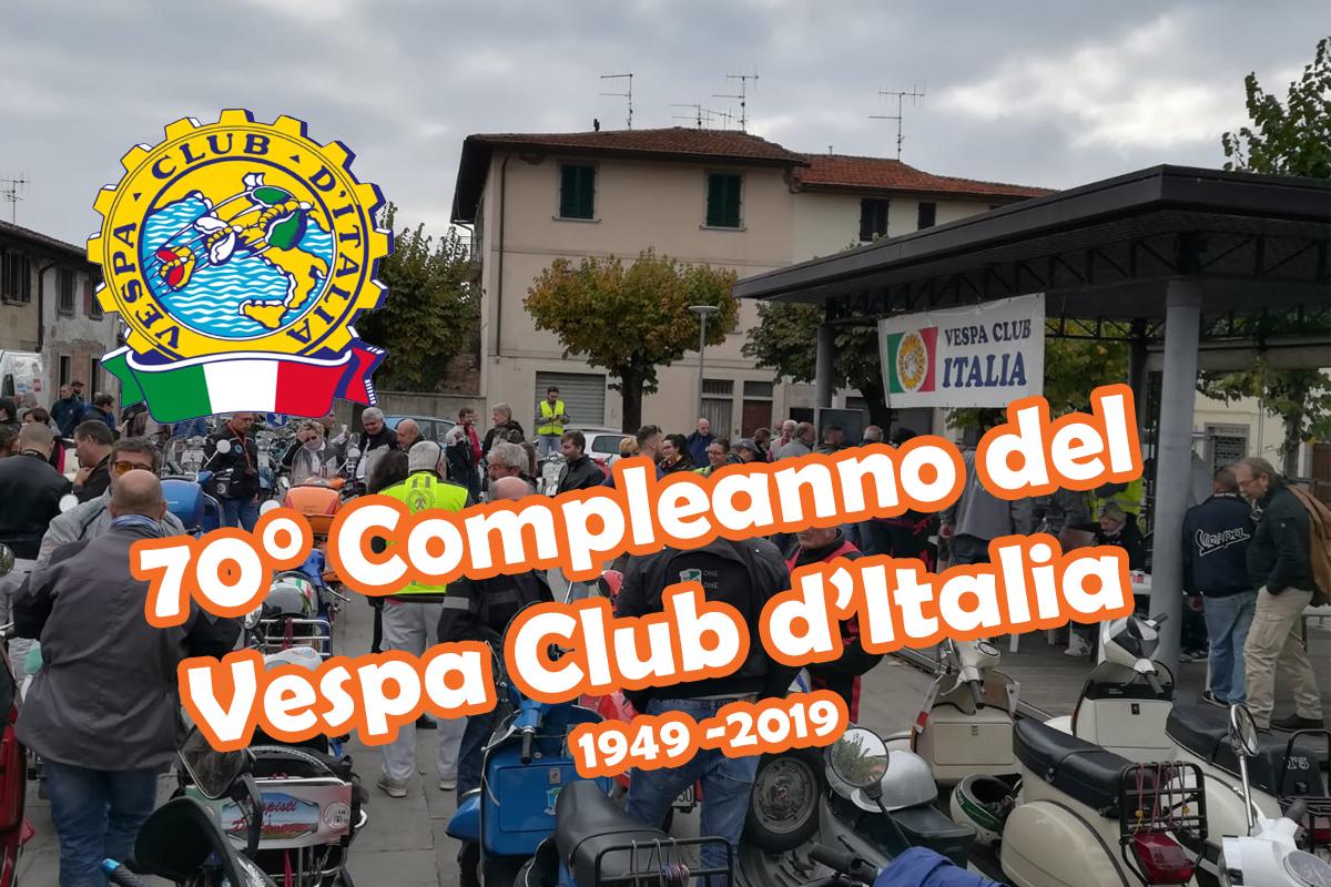 70° Compleanno del Vespa Club d'Italia