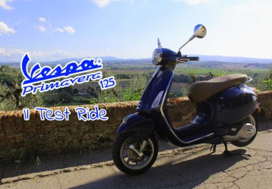 Vespa Primavera Test Ride