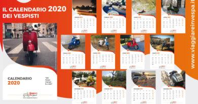 Calendario 2020 illustrato con foto