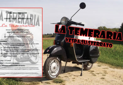 La Temeraria Vespa su sterrato