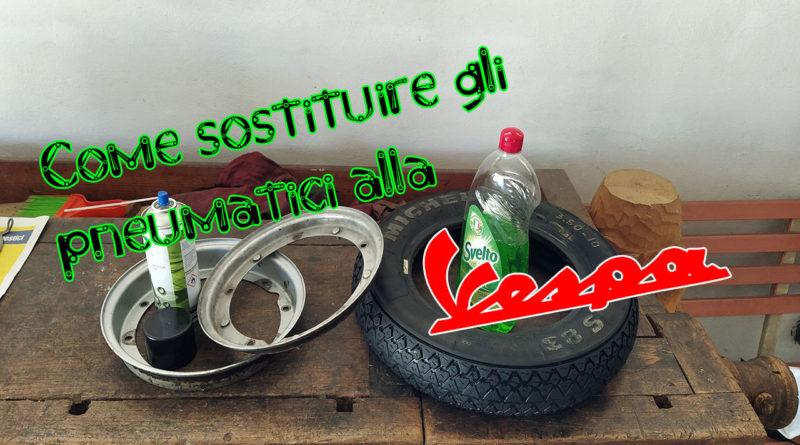 come sostituire gli pneumatici