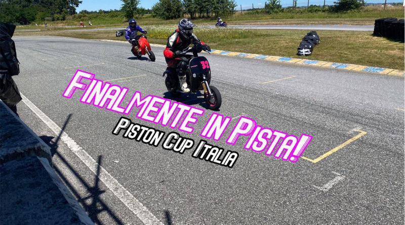 finalmente in pista - Piston Cup Italia