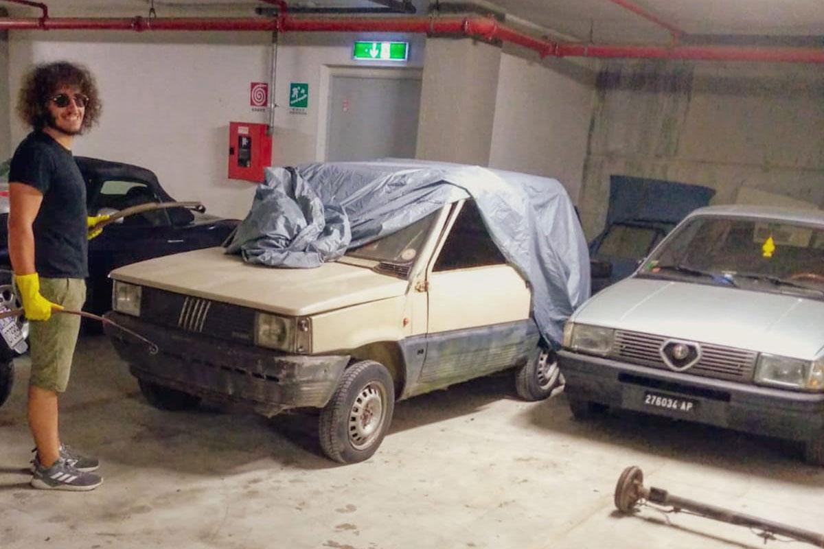 Recupero auto d'epoca