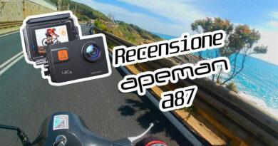 Recensione Apeman A87