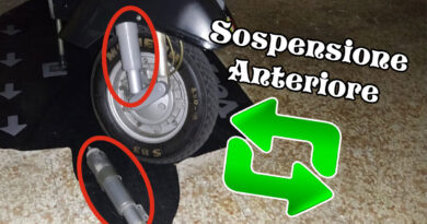 Cambiare sospensione anteriore
